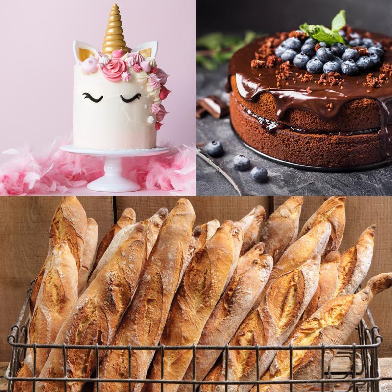 Pains et gâteaux populaires en ligne