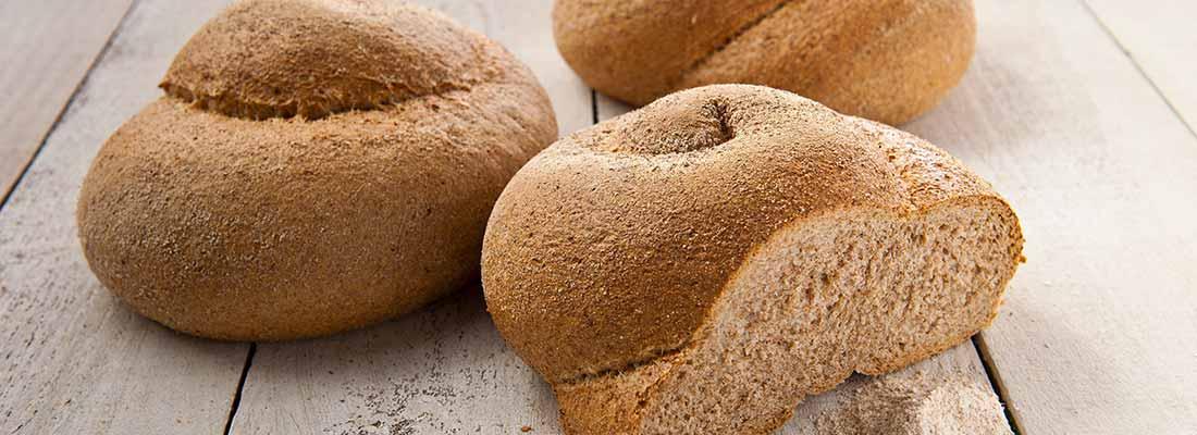 foto van volkorenbrood